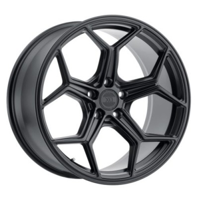 XO Luxury Wheels HELSINKI Matte Black wheel (19X8.5, 5x112, 66.6, 32 offset)