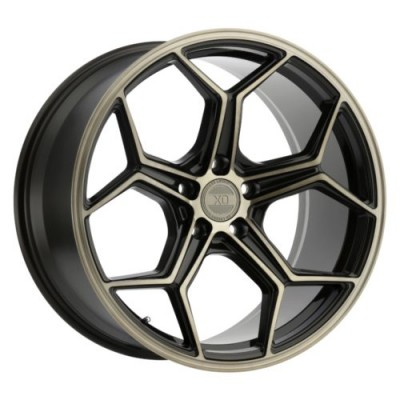 XO Luxury Wheels HELSINKI Bronze wheel (19X8.5, 5x114.3, 76.1, 35 offset)