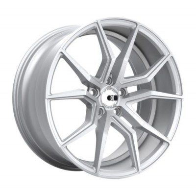 XO Luxury Wheels VERONA Matte Silver wheel (19X9.5, 5x120.65, 70.3, 56 offset)