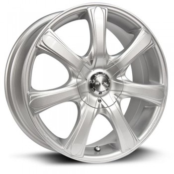 RTX Wheels S7, Argent/Silver, 17X7, 5x108/114.3 ( offset/deport 42), 73.1