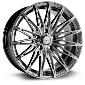 RTX Wheels Crystal, Noir Machine/Machine Black, 17X7.5, 5x108 ( offset/deport 40), 63.4
