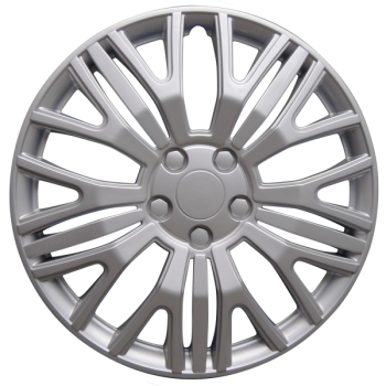 "Wheel Covers 17"" (set of 4) - Silver - D104017S"