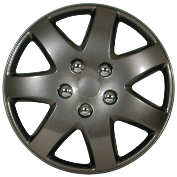 "Wheel Covers 16"" (set of 4) - Black - D96216PBK"
