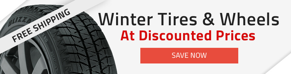 Shop winter tires and wheels at discount prices now!